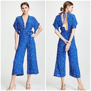 FAITHFULL THE BRAND La Villa floral jumpsuit